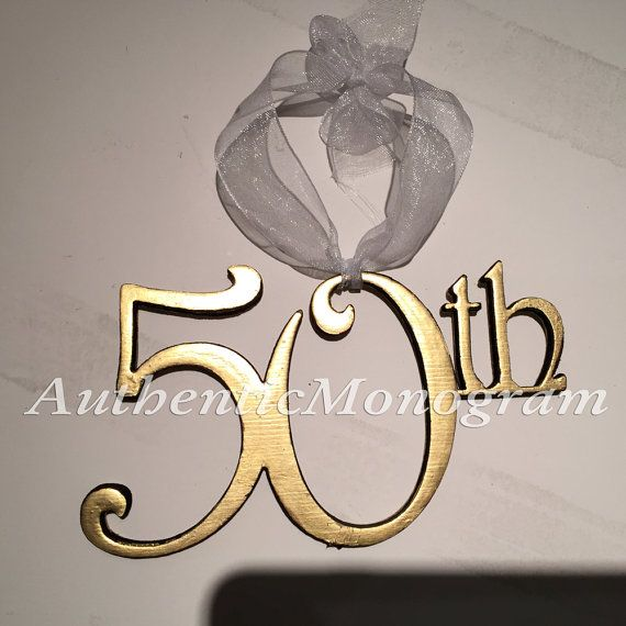 ANNIVERSARY ORNAMENT Double or Single Numbers wooden UNPAINTED Monogram, Birthday, Wedding Decor 61003* by monogramcustomart. Explore more products on http://monogramcustomart.etsy.com