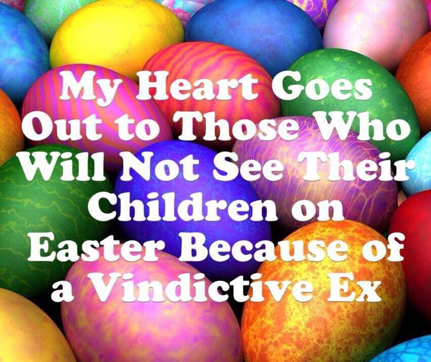 So sad a parent would not let the kids see the other parent on so sad a parent would not let the kids see the other parent on easter negle Image collections