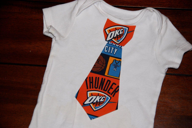 Oklahoma City Thunder DIY Tie