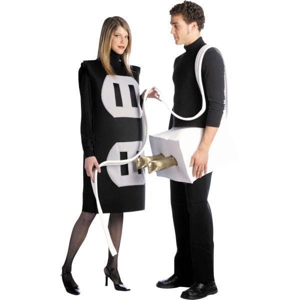 Adult Plug and Socket Costume crafts Pinterest Craft - greaser halloween costume ideas