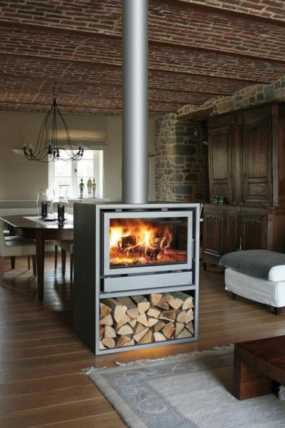 pingl par michel diaz sur fireplaces wood stoves pinterest po le chemin e et poele bois. Black Bedroom Furniture Sets. Home Design Ideas