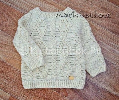 Схема вязки детского свитера фото 674