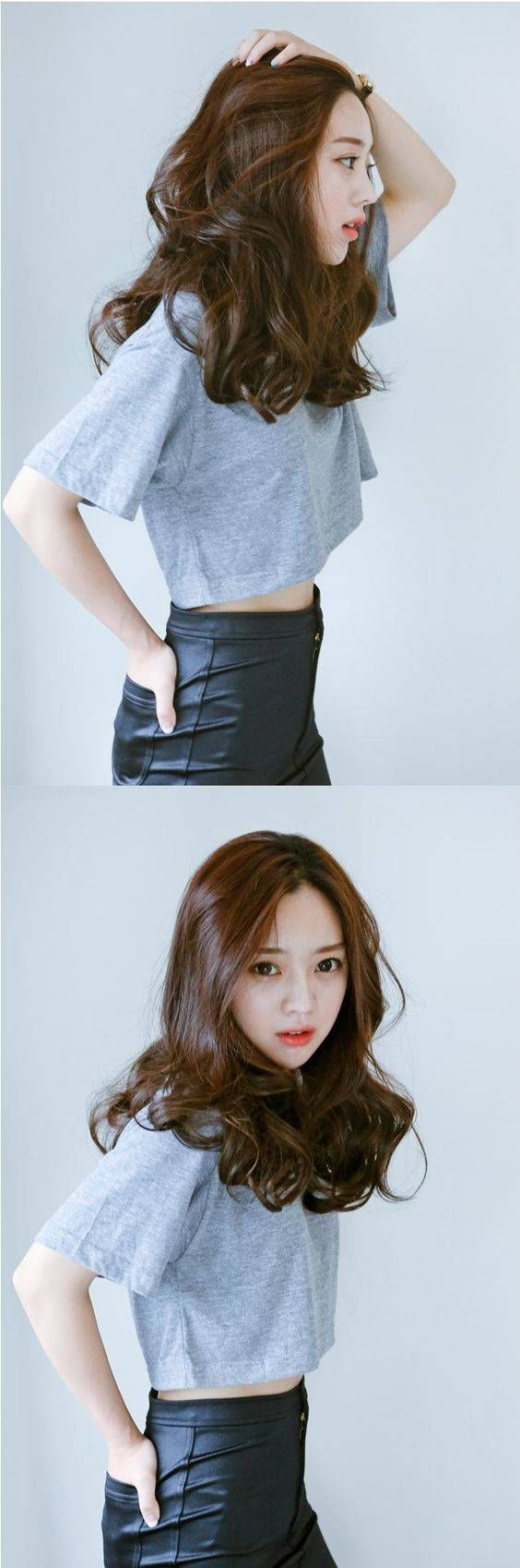 korean hair style 11 women  Medium hair styles, Hair styles