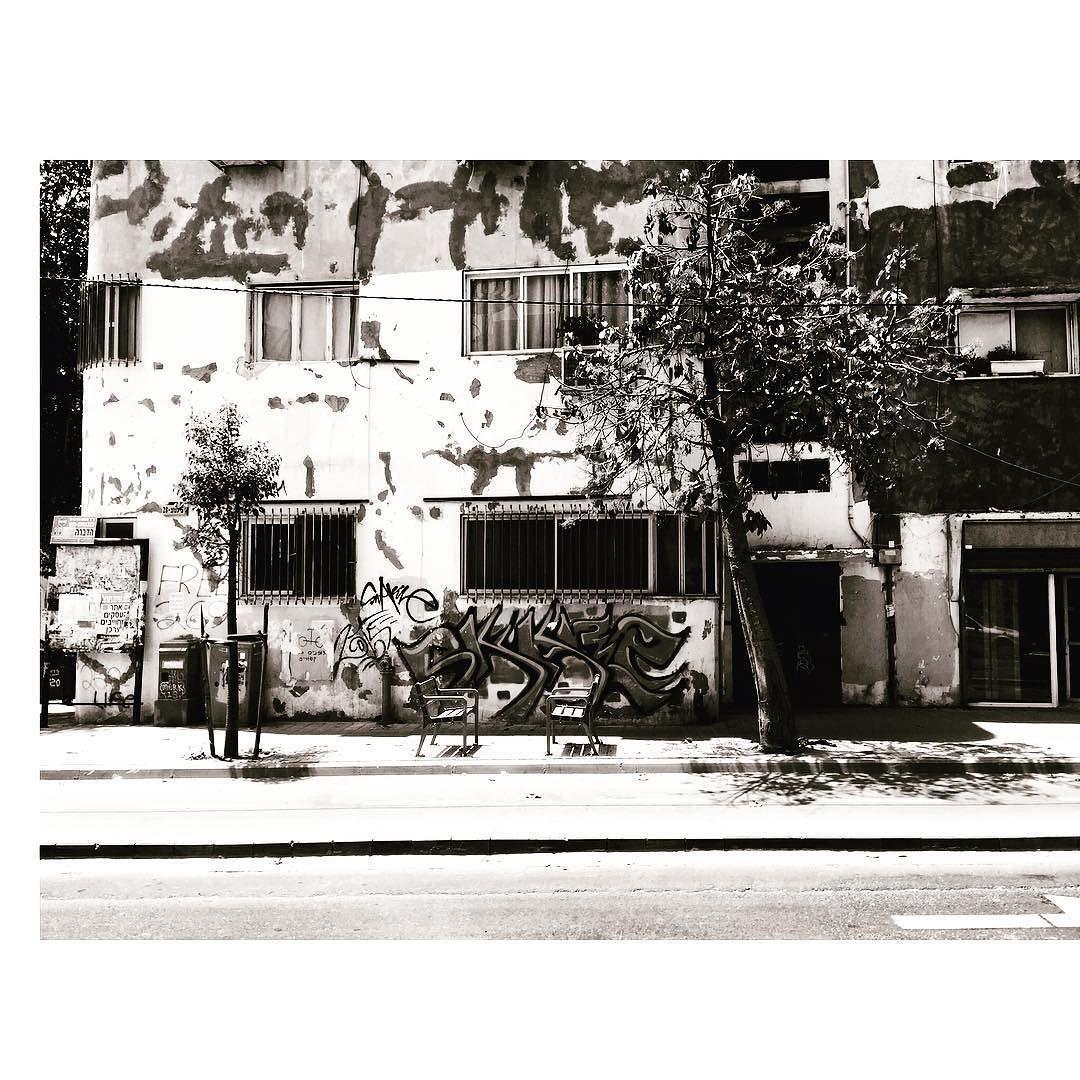 ᴵ  ᵀᴱᴸ ᴬᵛᴵᵛ #themgörls #israel #wanderlust #instapassport #ami #trip #telaviv #travel #travelgram #photography #travelling #inked #chloe #blackandwhite #telaviv #love #vsco #instablogger #frivolite #party #hipster #touri #art #streetart #graffiti #graffitiart #walk #urban #tree #architecture by _la_loma http://bit.ly/AdventureAustralia