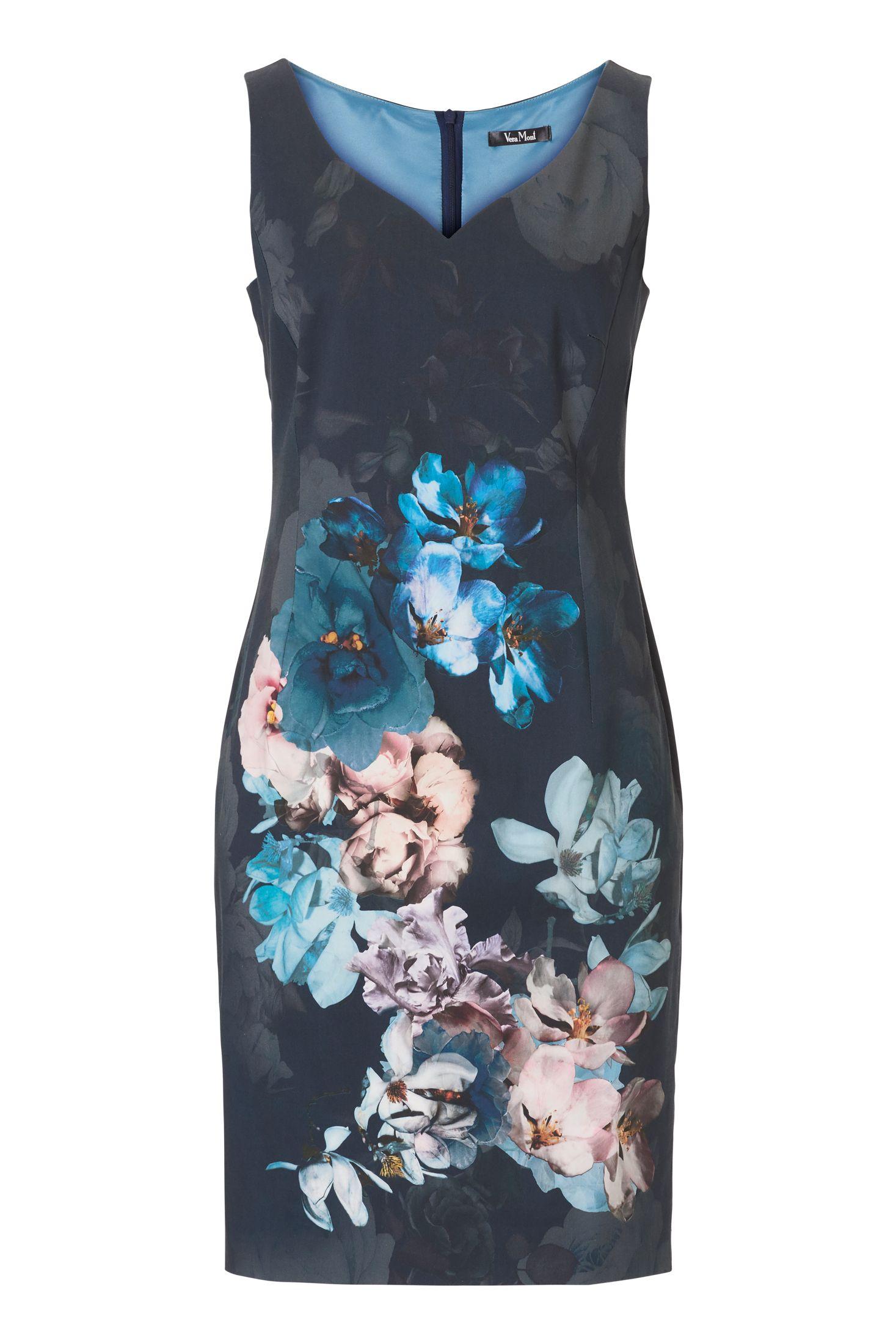 Etuikleid Blütenprint   Clothes, Dresses, Fashion