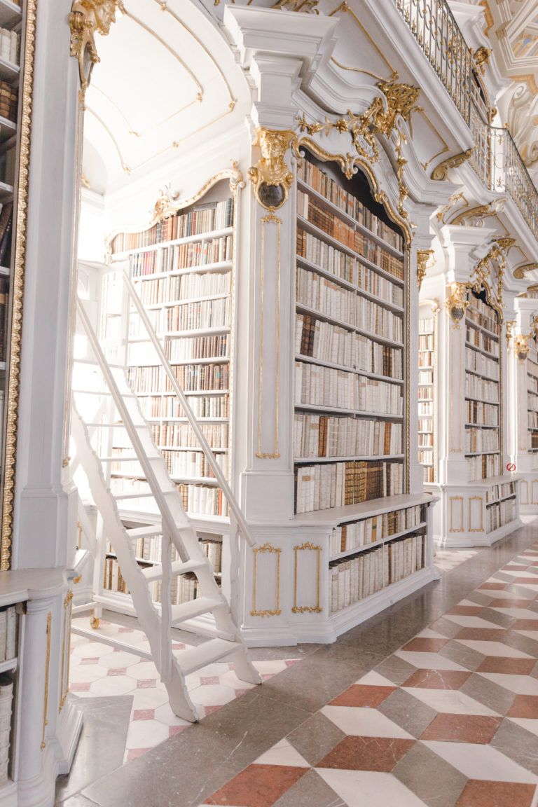 The Most Beautiful Library in the World - monalogu