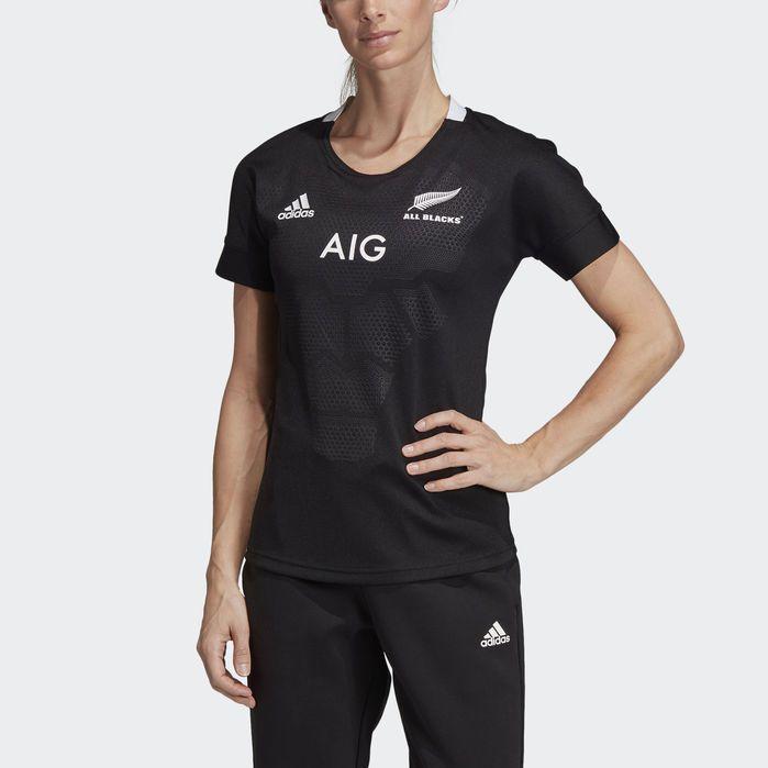 sports shoes 0ae54 71e71 All Blacks Home Jersey Black XS Womens