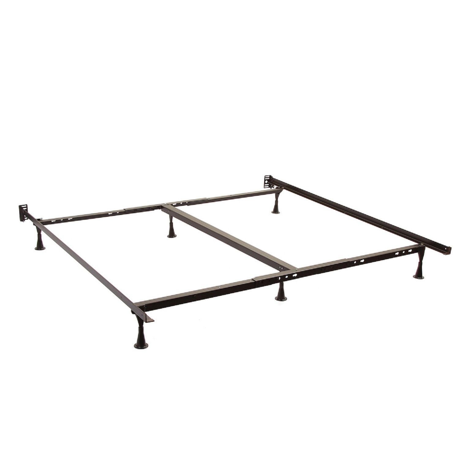 Queen King Cal King Angle Iron Steel Bed Frame With 2 Inch