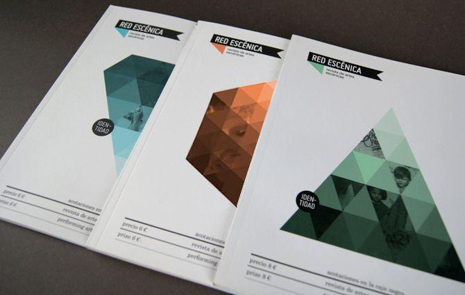 Red Escenica Magazine Un Proyecto De Casmic Lab Domestika Book Design Layout Design Print Layout Quality Web Design