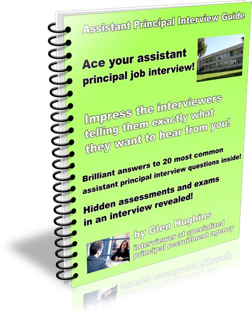 Assistant Principal Interview Guide Home Pinterest Interview