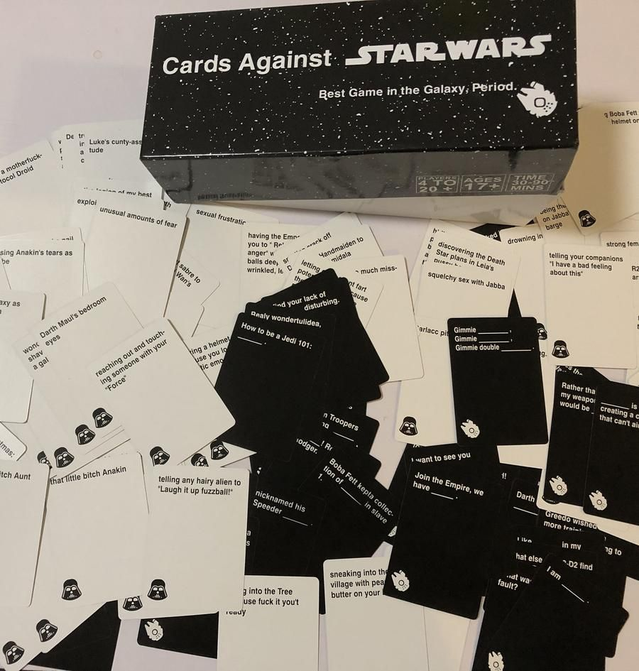 Brand new professionally printed cards against new