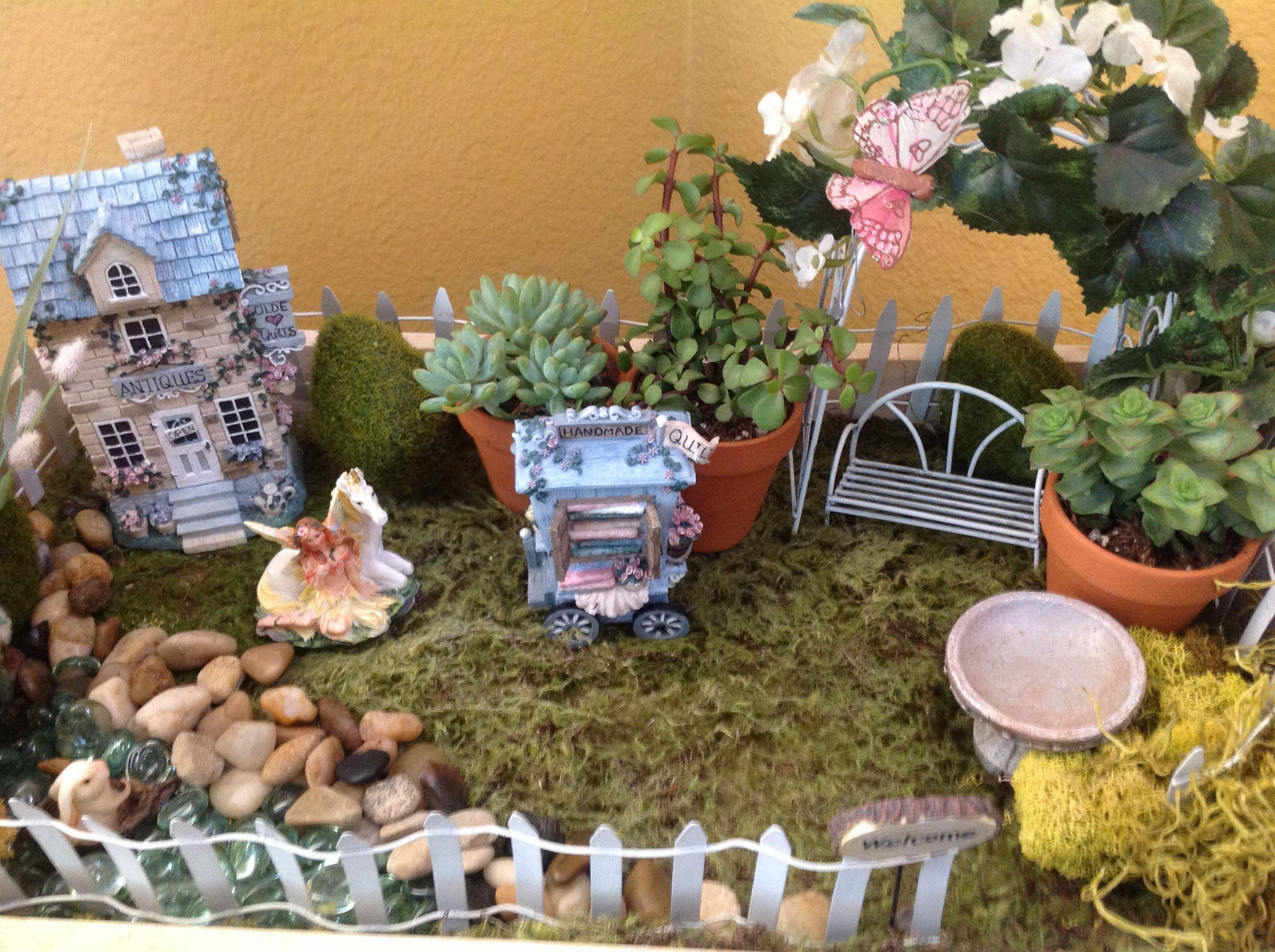 My Fairy Garden upgrade   Fairies   Pinterest