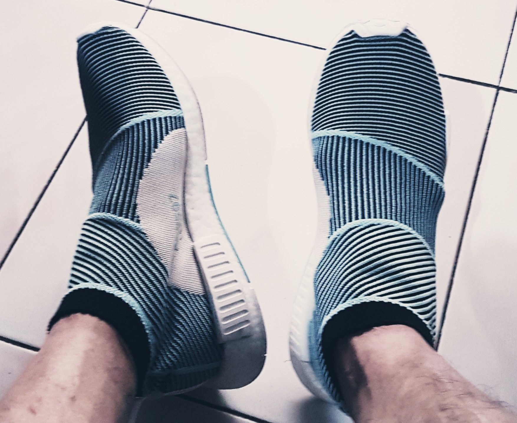 new arrival d4397 688fa My Adidas City Sock Parley | Zainal's Picture of Knitting ...
