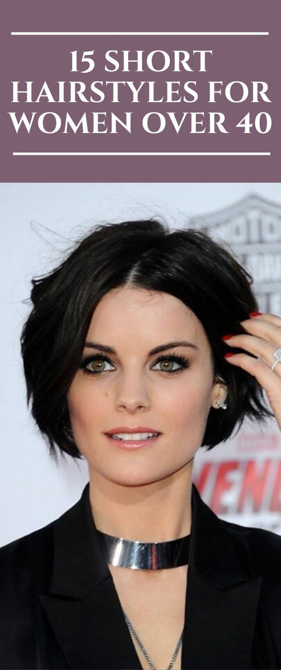 15 Short Hairstyles for Women over 40