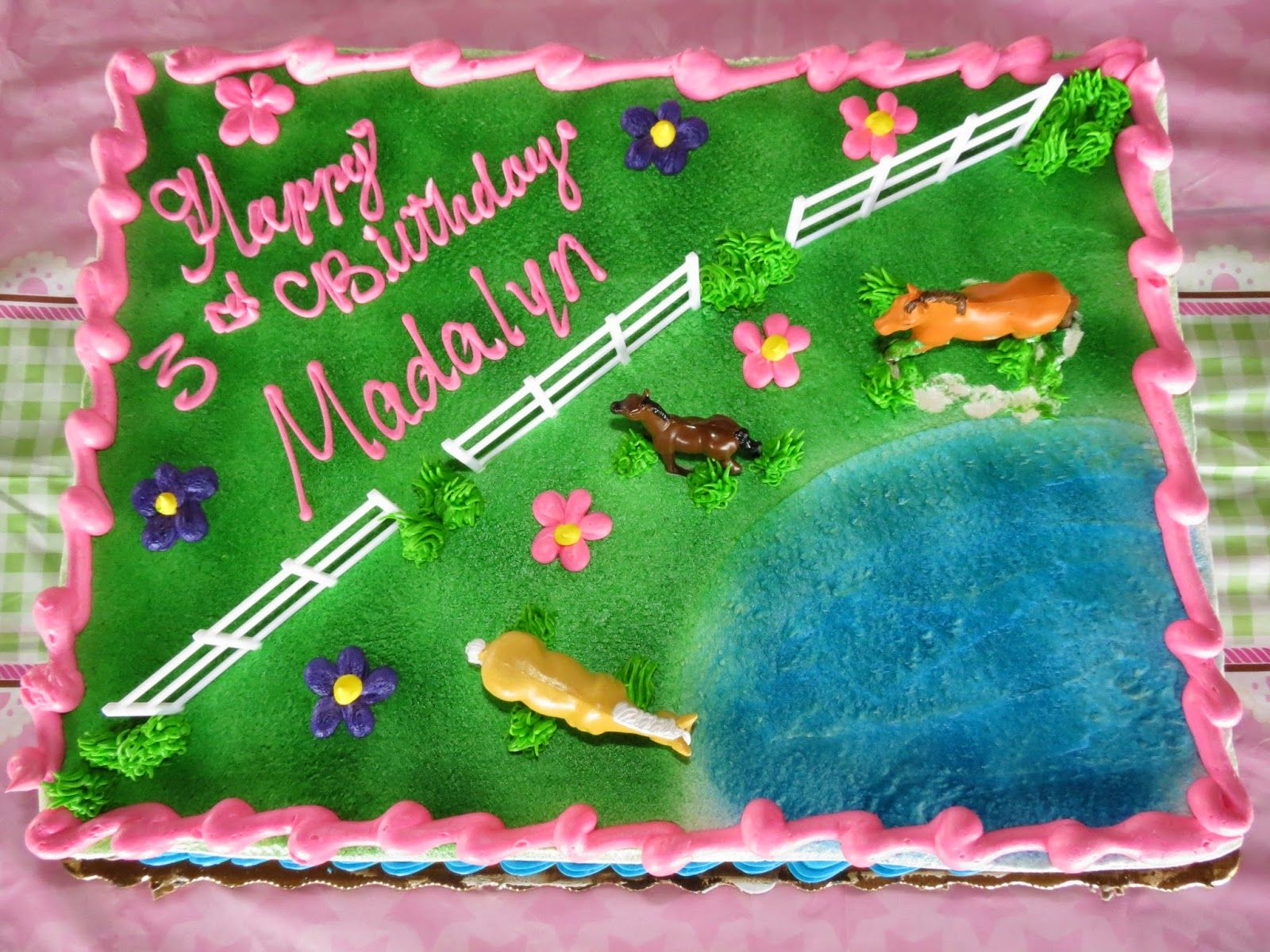 Incredible Horse Cake From Publix Bday Girl Girls Birthday Party Little Funny Birthday Cards Online Fluifree Goldxyz