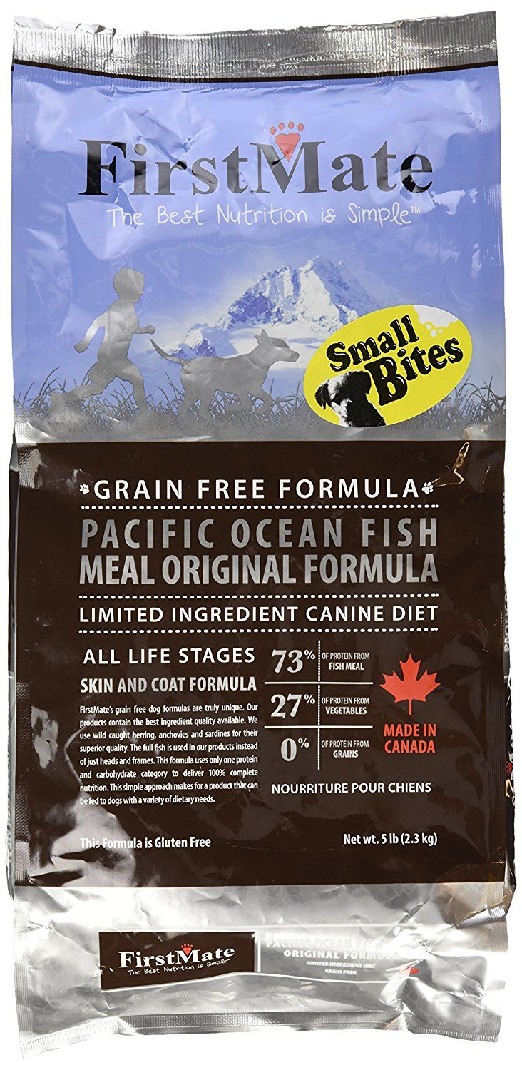 Firstmate pet foods pacific ocean fish small bites for