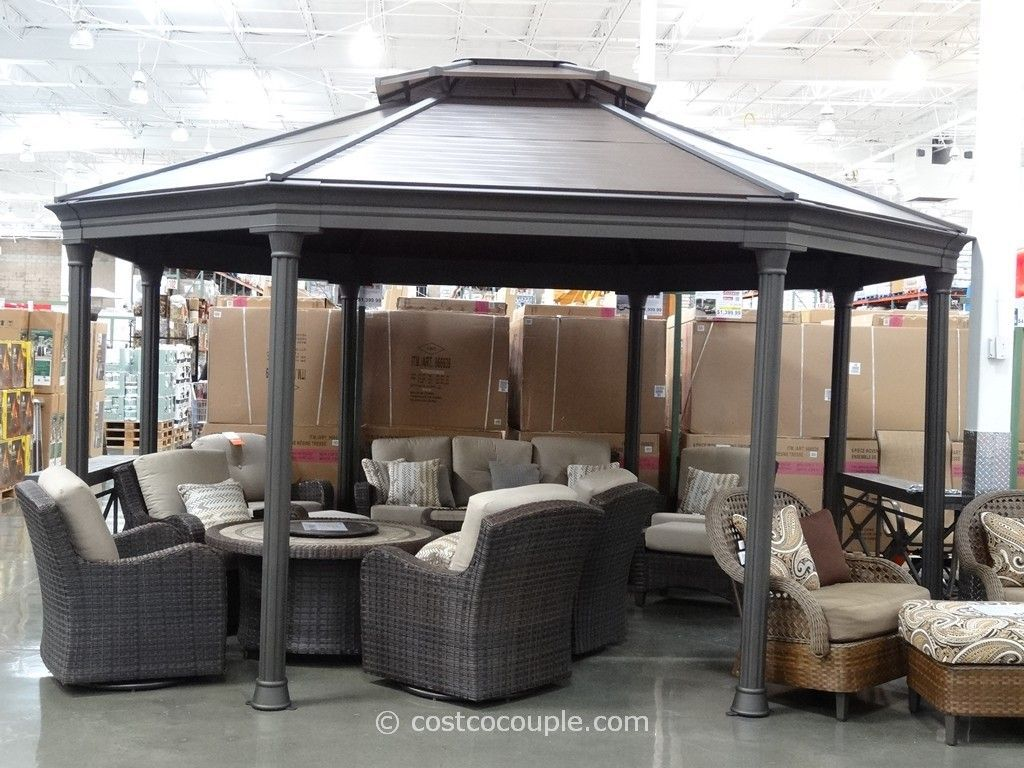 Metal frame first up gazebo parts list metal gazebo kits pinterest pati - Pergola aluminium en kit ...