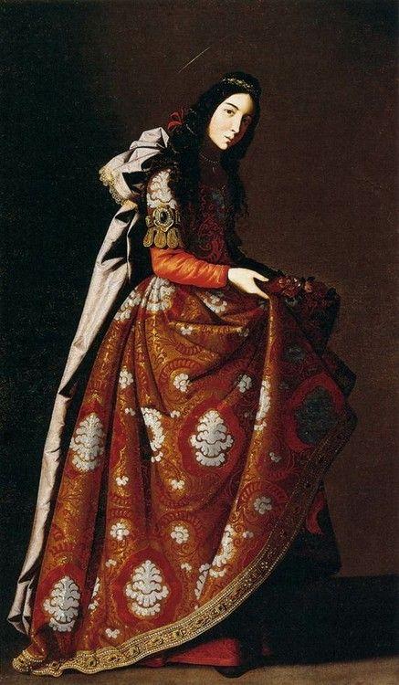 Saint Casilda, Francisco de Zurbaran, c. 1630