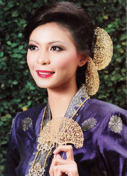 Bakalpengantin Com Traditional Hairstyle Hair Styles Asian Beauty