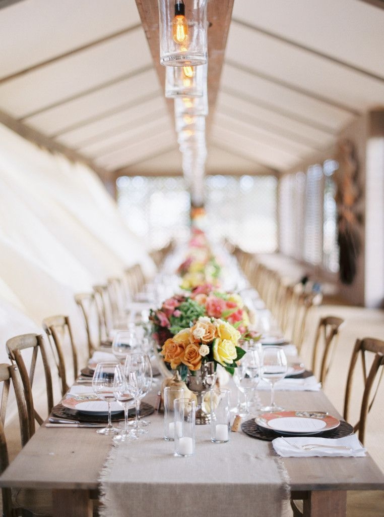 40th Birthday Dinner Party Ideas Part - 46: Rustic Elegance Was The Name Of The Game At This 40th Birthday Party On A  Private