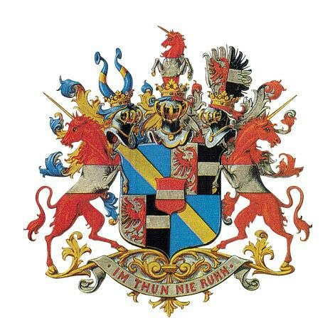 Wappen der Grafen von Thun und Hohenstein / Coat of Arms of The ...