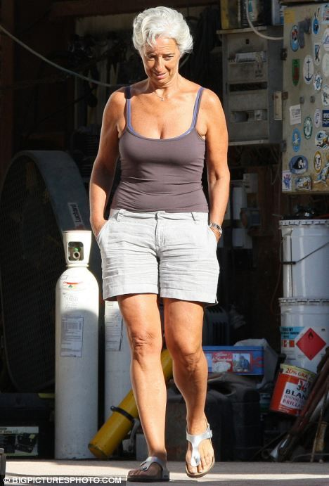 Not a care in the world, Christine? French minister tipped as next IMF head facing prosecution over financial sleaze   Over 50 womens fashion, Fashion, 60 fashion