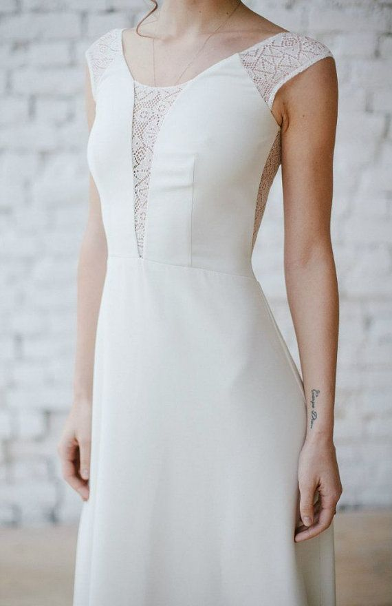 Boho wedding dress \