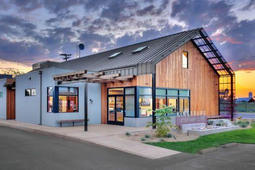 The Modern Barn Kingsburg Veterinary Clinic Studio G+S