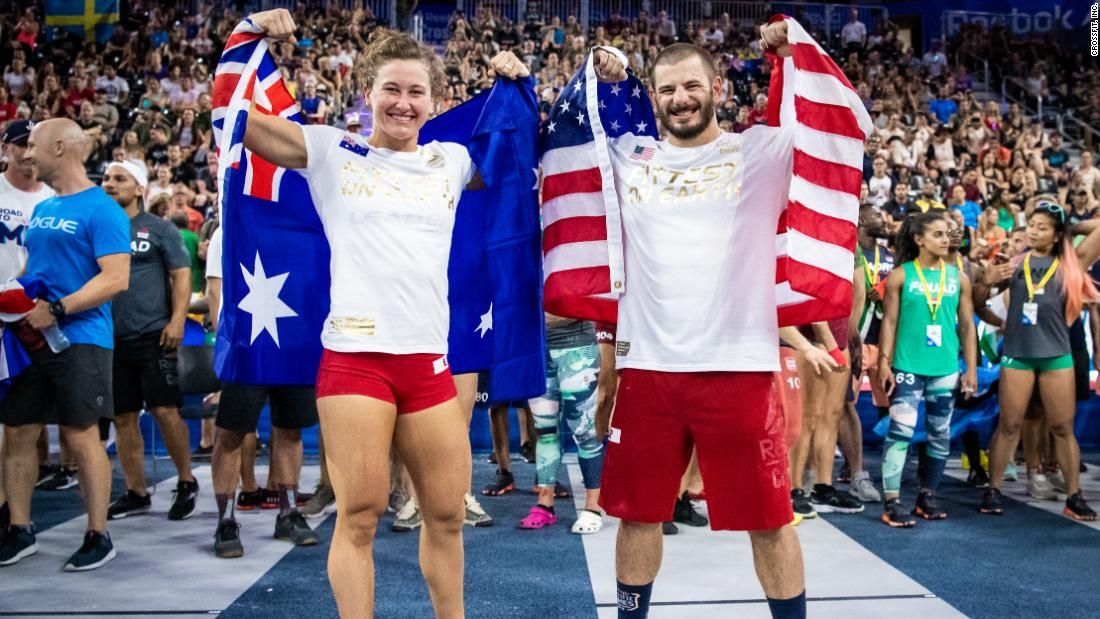Mat Fraser And Tia Clair Toomey Once Again Crossfit S Fittest Athletes On Earth Mat Fraser Fraser Crossfit Reebok Crossfit Games