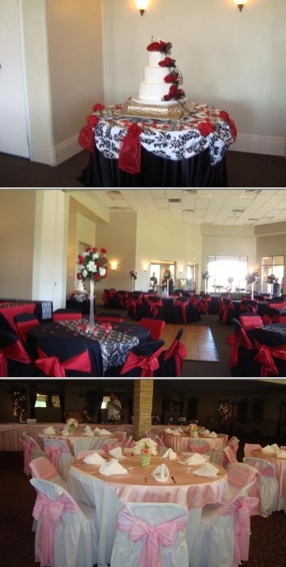 Leilani's Design's is a family-owned business that has 20 years of experience in decorating weddings and other special occasion. They offer tablecloths, chair covers, chairs, drapery, and many more.
