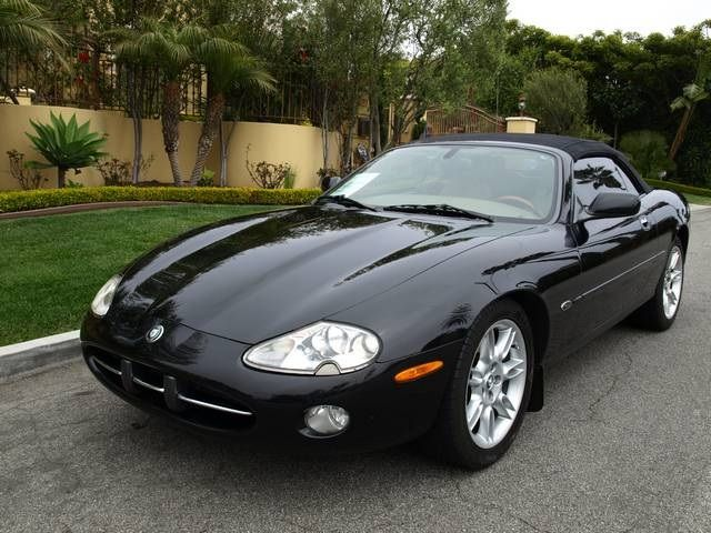 99 Jaguar Xk8 Convertible Triple Black 2002 Xk Series 2d Photo 2 Hermosa Beach Ca