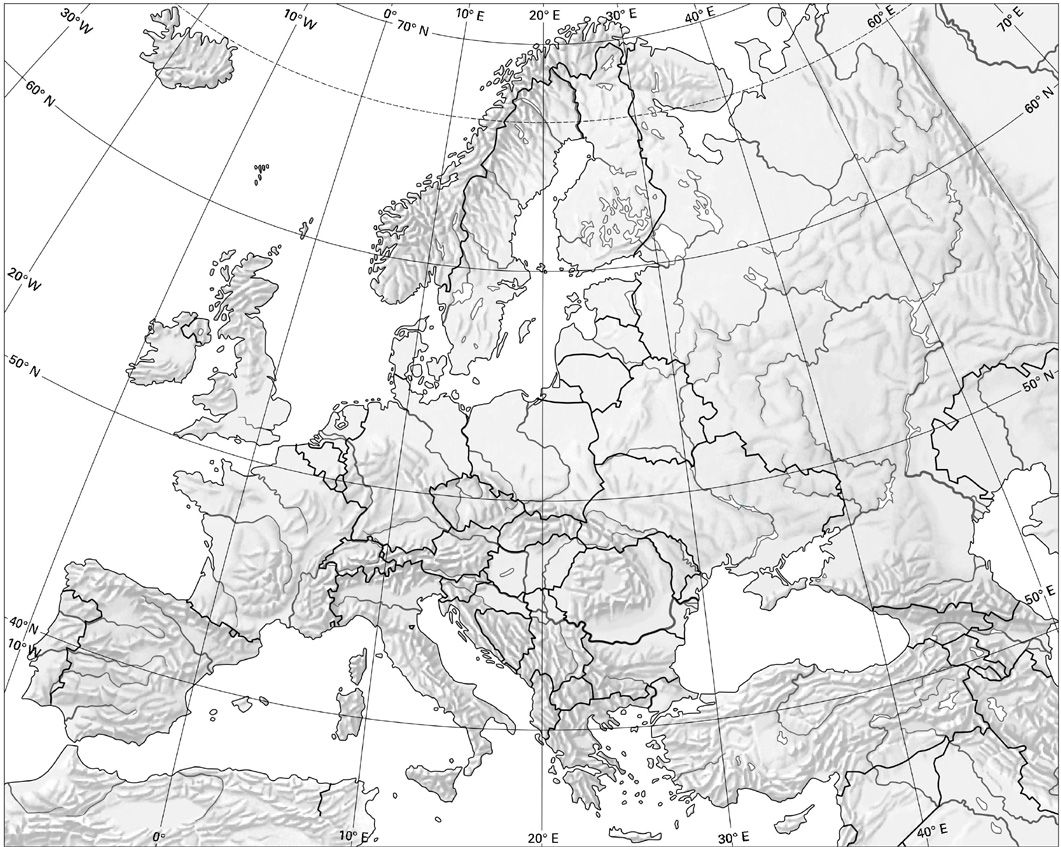 Mapa Fisico De Oceania Mudo Para Imprimir En Blanco Y Negro.Mapa Fisico Europa Busca De Google Mapa Fisico De Europa