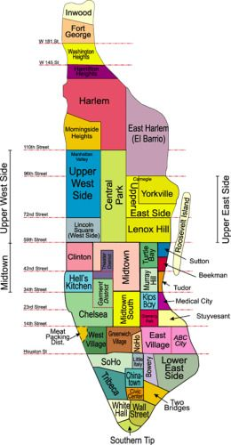 Map Of New York By Neighborhood.Pin By Annalisa Stahler On New York State Of Mind New York