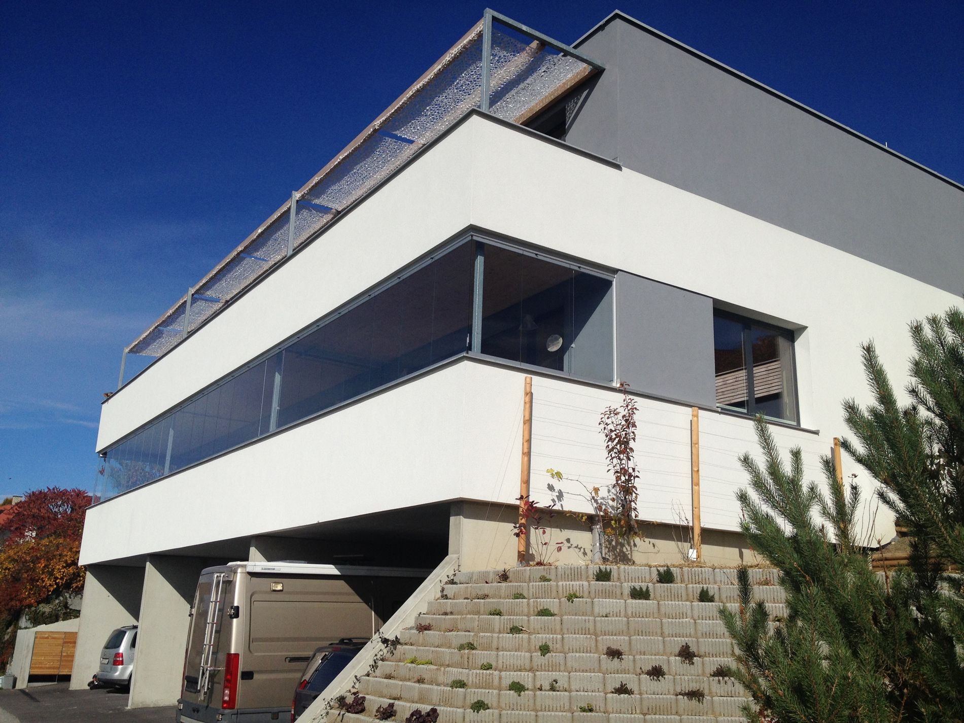 Faltschiebewand Balkon – Wintergarten Schmidinger