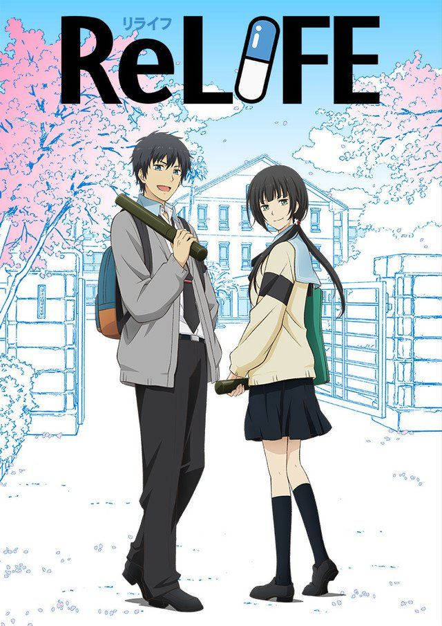 ReLIFE finale OVA gets released in March, manga also