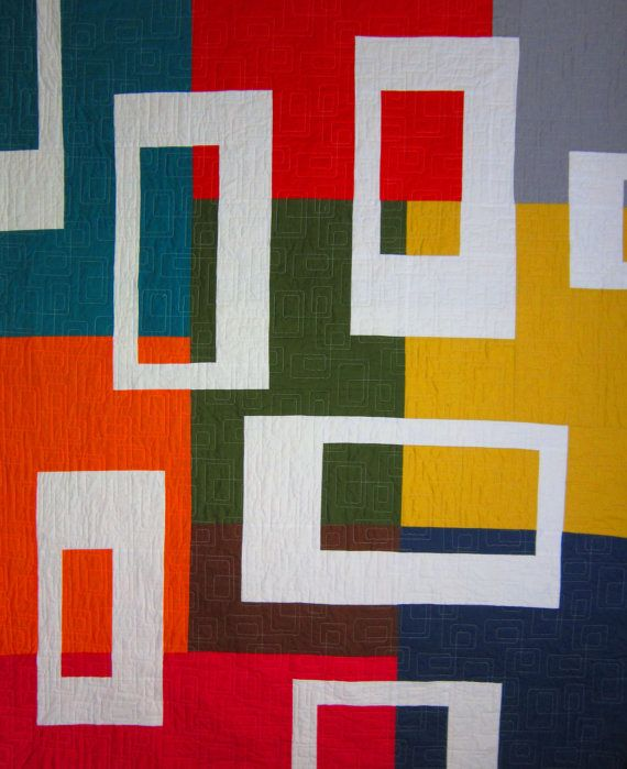 Pdf Pattern Austin Modern Quilt Pattern From Quilts By