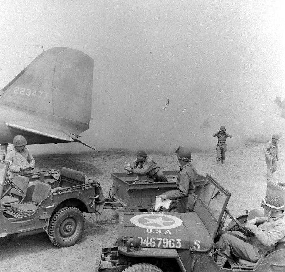 9th Air Force Poste Avance Normandie 1944 Normandie