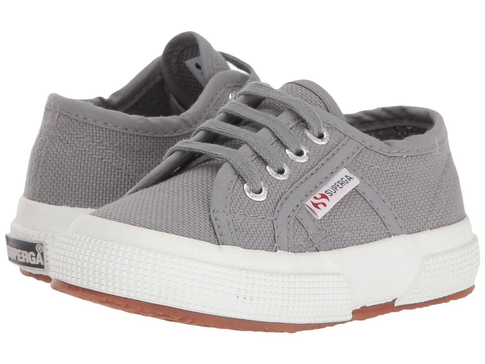 8b17aeec471c Superga Kids 2750 JCOT Classic (Toddler Little Kid) Kids Shoes Grey Sage