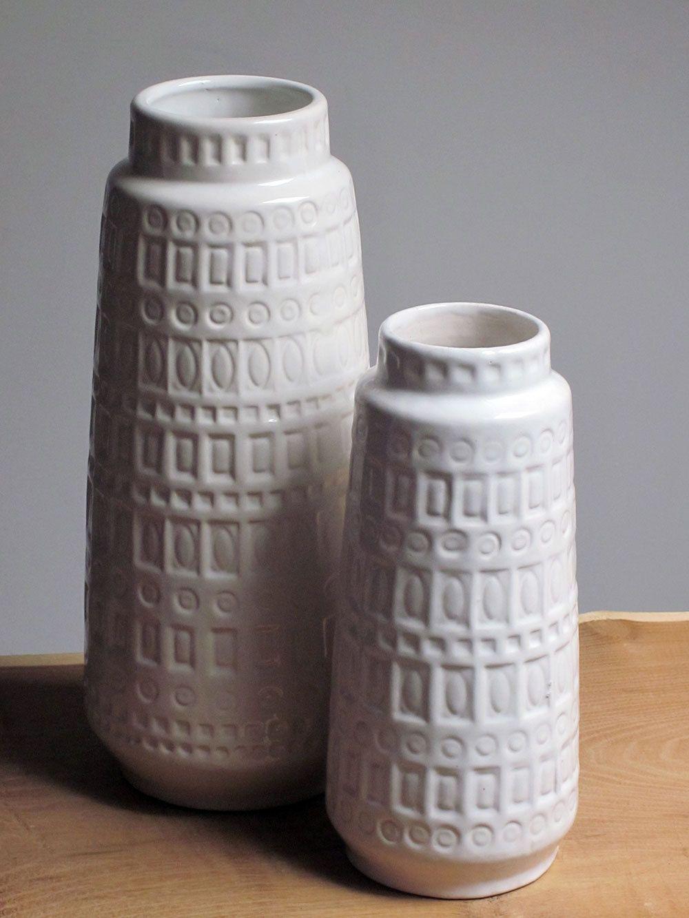Inka Decor Vase By Scheurich German Ceramics West Germany Pottery West German Pottery