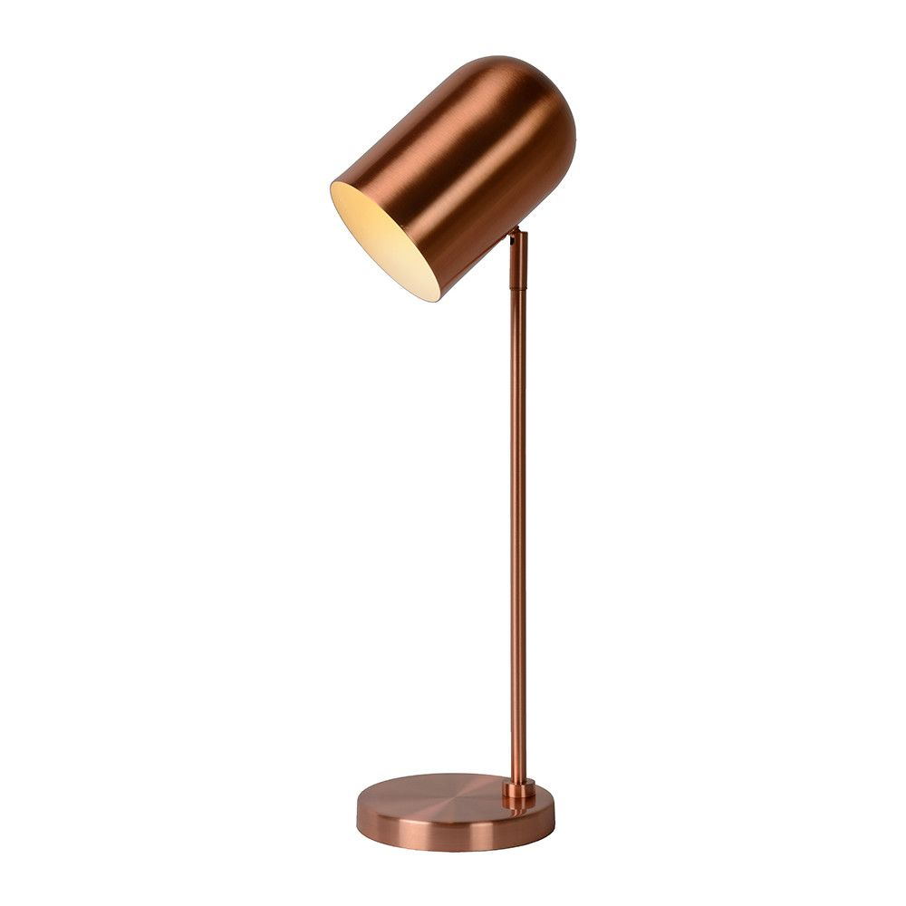 Create a dramatic statement in any room with this bliny table lamp a by amara bliny table lamp red copper via silu interior and branding aloadofball Gallery