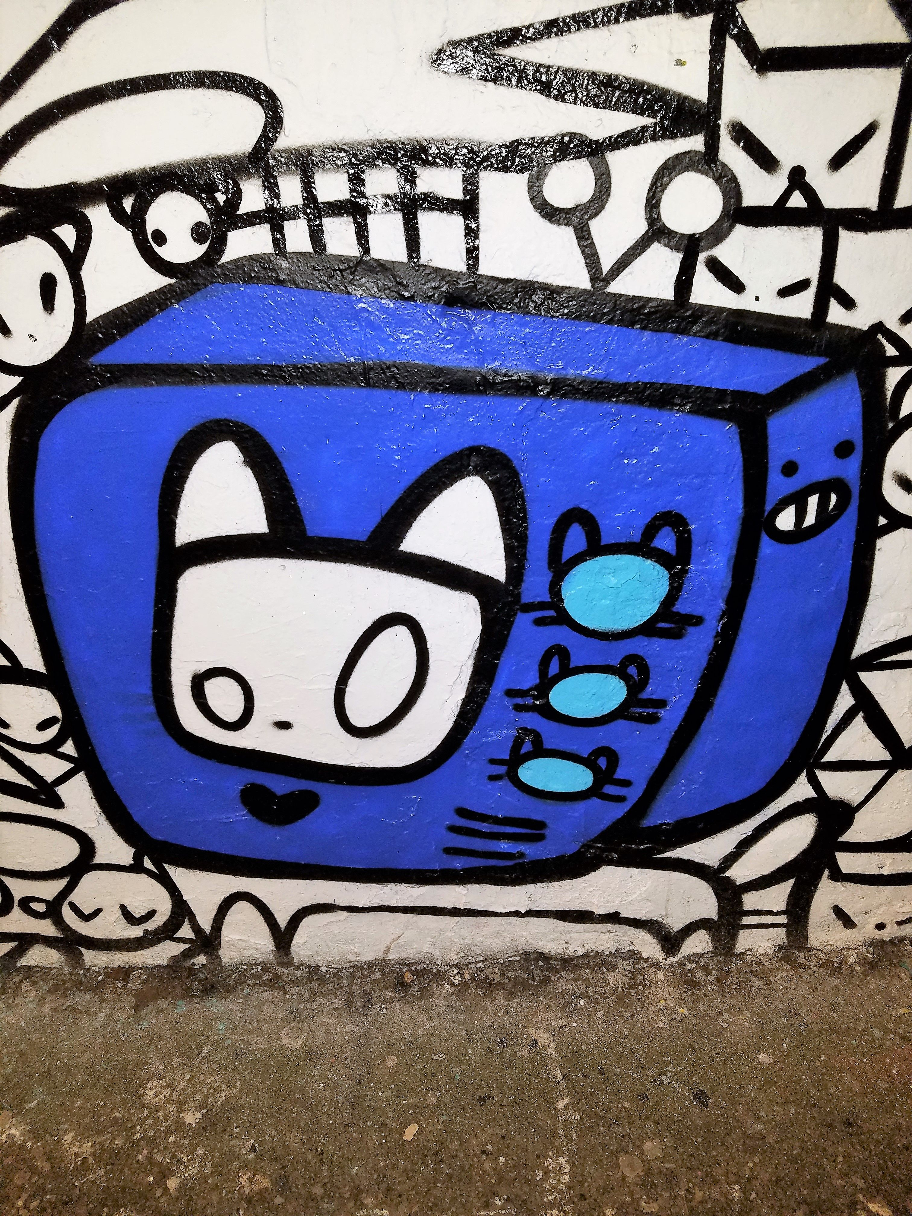 Graffiti Font R