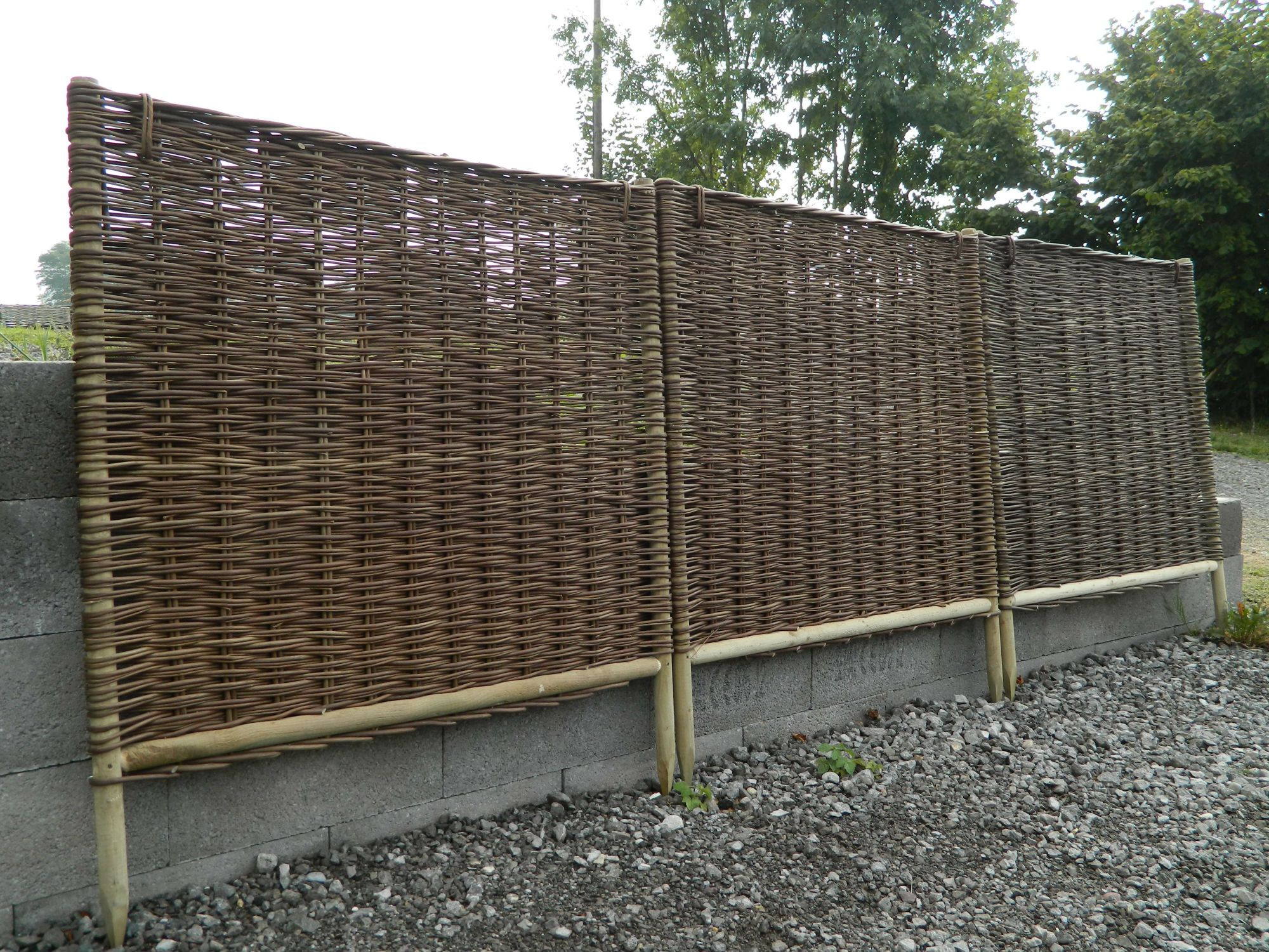 Hauteur Brise Vue Terrasse brise vue hauteur 2m50 cloture brise vue jardin | camping