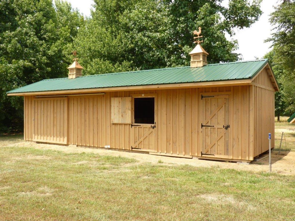 Vince Reap buildings (5) Horse barns, Small horse barns