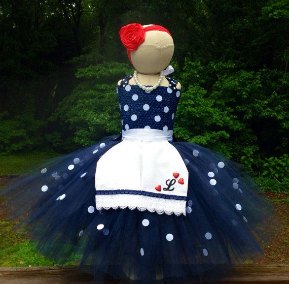 I Love Lucy inspired costume with matching by luluBellebySarah