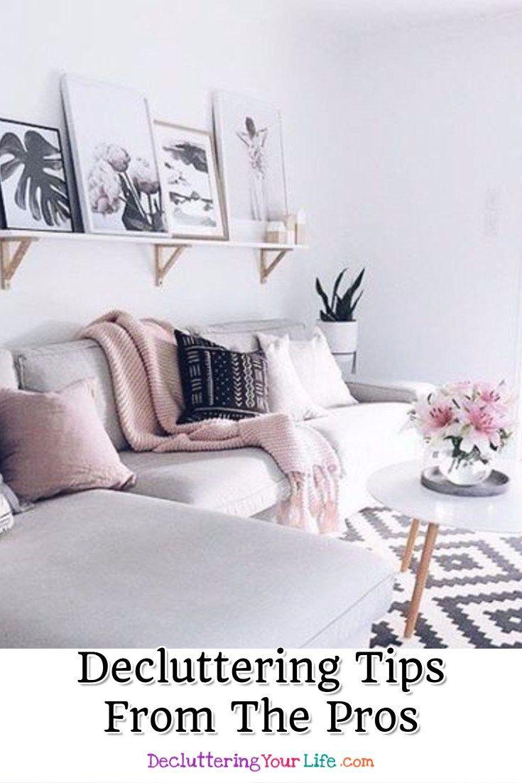 How to arrange a very small living room declutter and organize   tips from professional organizers that