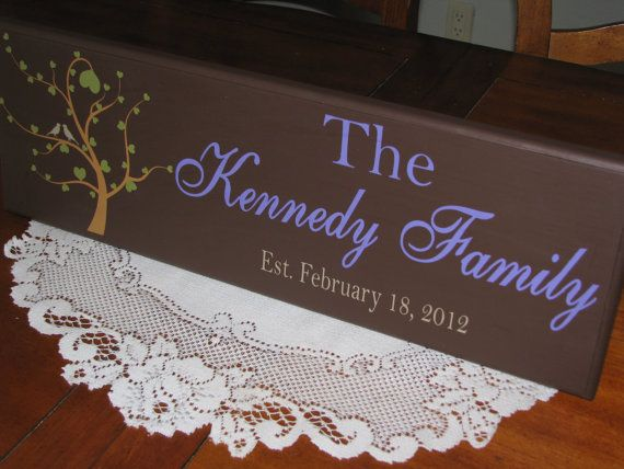 Personalized decor for feathering your own nest.