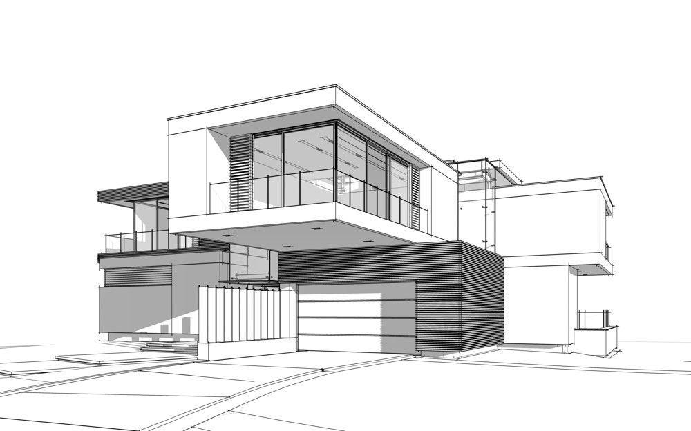 Stock Photo And Image Portfolio By Korisbo Shutterstock Architect Design House House Architecture Design House Designs Exterior