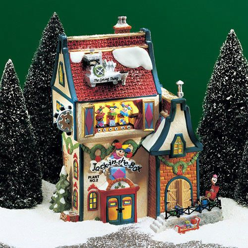 Dept 56 North Pole Jack In The Box No. 2 Department 56 #56705 NEW IN ...