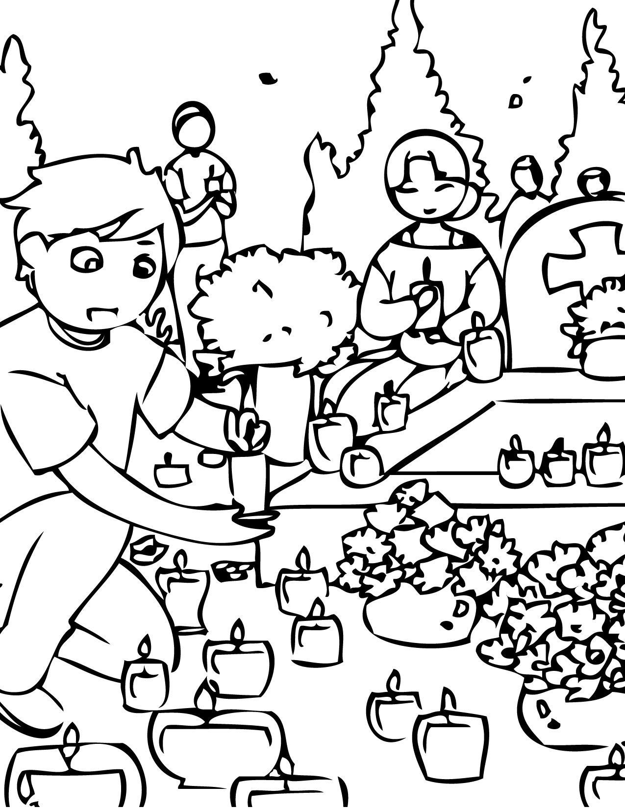 All Saints Day Coloring Pages Coloring Home All Saints Day Coloring Pages Saints Days In 2021 Coloring Pages For Boys Printable Coloring Pages Free Coloring Pages