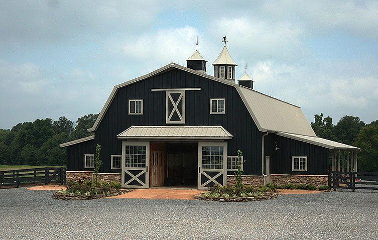 Farm History Deeply Rooted Farms Black Siding Gambrel